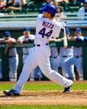 #44 Anthony Rizzo av Chicago Cubs royaltyfria foton