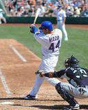 #44 Anthony Rizzo av Chicago Cubs Arkivbilder