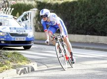 Anthony Roux Cyclist French Royalty Free Stock Images