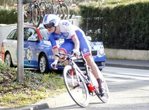Anthony Roux Cyclist French Royalty Free Stock Image