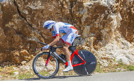 Anthony Roux, Individual Time Trial - Tour de France 2016 Royalty Free Stock Photos