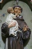 Anthony santo di Padova Fotografia Stock Libera da Diritti