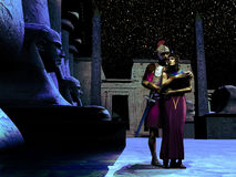 Anthony und Kleopatra Stockbilder