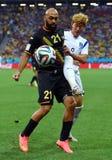 Anthony Vanden Borre Coupe du monde 2014 Foto de Stock