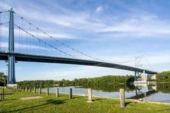 Anthony Wayne Bridge royalty free stock images