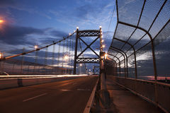 Anthony Wayne Bridge in Toledo stock foto
