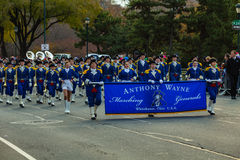 Anthony Wayne Marching Generals Foto de Stock Royalty Free
