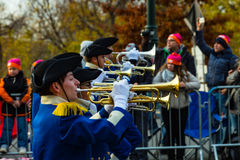 Anthony Wayne Marching Generals Trumpets Foto de Stock