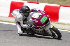 Anthony West racing Moto2 Stock Photos