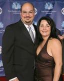 Anthony Zulker και σύζυγος  Στοκ Εικόνα