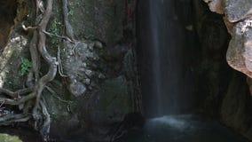 Anthousa-Wasserfall nahe Parga stock video