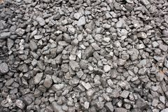 Anthracite coal background Stock Photo