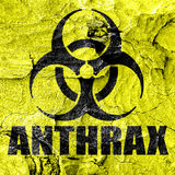 Anthrax virus concept background Royalty Free Stock Photo