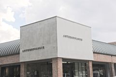 Anthropologie Company Sign editorial stock image. Image of ...
