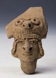 Anthropomorphic figure, art of ecuador Royalty Free Stock Image