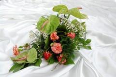 anthurium γαρίφαλο ανθοδεσμών Στοκ φωτογραφία με δικαίωμα ελεύθερης χρήσης