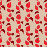 Anthurium pattern. Abstract anthurium pattern including seamless in swatch panel Royalty Free Stock Photo