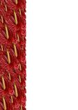 Anthurium rojo pila de discos Imagenes de archivo