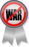anti война тесемки кнопки Стоковое Фото