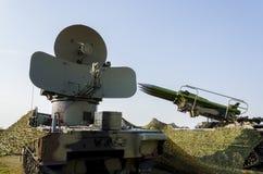 Anti ракетный комплекс воздушных судн стоковое изображение rf
