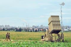 anti ракетный комплекс утюга купола Стоковые Изображения RF