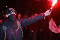 anti ралли kremlin moscow Стоковое фото RF
