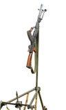 Anti aeronautica machine-gun Fotografie Stock