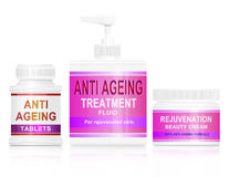 Anti ageing concept. Stock Photography