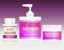Anti ageing concept. Stock Photos