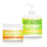 Anti ageing products. Royalty Free Stock Photos