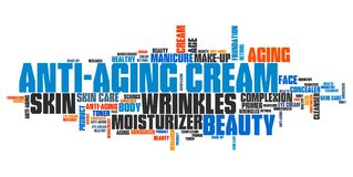 Anti aging cream Stock Images