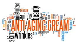 Anti-aging cream Stock Image