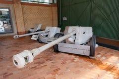Anti-Aicraft gun Lugafweerkanon Royalty Free Stock Photography