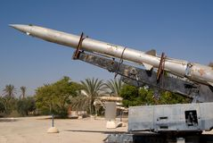 Anti-aircraft air missile Stock Photos