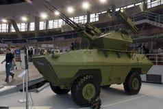 Anti-aircraft armored vehicle Royalty Free Stock Photos