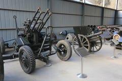 Anti-aircraft artillery Stock Images