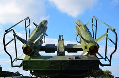 Anti aircraft defence system. Detail Royalty Free Stock Photography