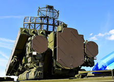 Anti-aircraft defense system Royalty Free Stock Images