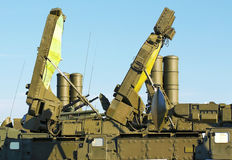 Anti-aircraft defense system Stock Image