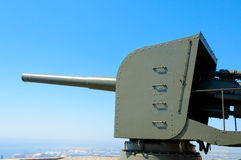 Anti-aircraft gun Royalty Free Stock Image