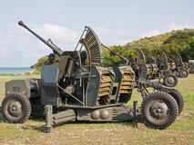 Anti aircraft  gun Stock Photos