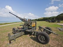 Anti aircraft  gun Stock Photography