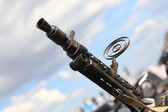 Anti-aircraft gun Stock Photo