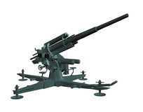 Anti Aircraft Gun Royalty Free Stock Photo
