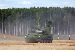 Anti-aircraft gun-missile system Tunguska Stock Photo
