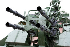 Anti-aircraft gun Royalty Free Stock Images