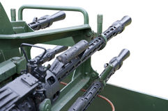 Anti-aircraft gun Stock Photography