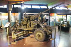 Anti-aircraft gun at the Museum Royalty Free Stock Photos