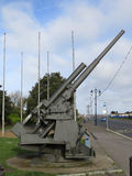 Anti-Aircraft gun Stock Image