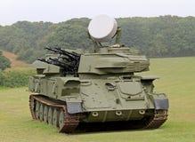 Anti Aircraft Gun. Royalty Free Stock Images